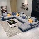 Wood 9 Seater Designer Corner Sofa Set, Seating Capacity: 9 Seatar