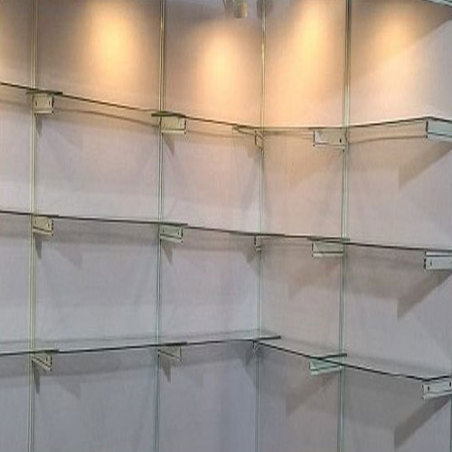 Stupendous Wall Mounted Exhibition Glass Shelves Home Interior And Landscaping Oversignezvosmurscom
