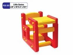 PLAYGRO Red And Yellow PGS-501 Little Genius Kids Bench