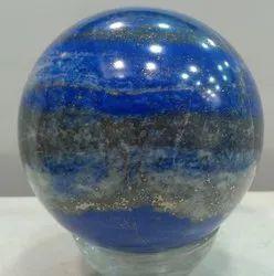 Natural Lapis Lazuli (Lajvart) Ball
