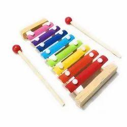 WOODYKRAFT Rectangular Wooden Xylophone Toy