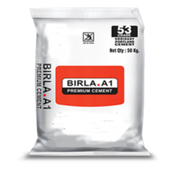 Birla A1 Premium Cement, Packaging Type: Sack Bag, Packaging Size: 50 Kg