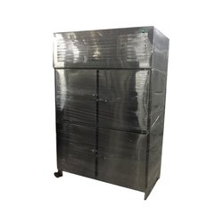 Stainless Steel Gray Four Door Refrigiation