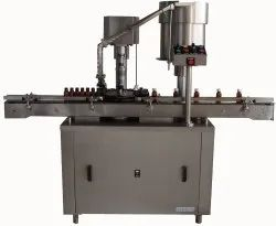 Fully Automatic Screw Capping Machine