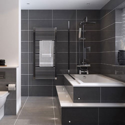 Plain Ceramic Bathroom Wall Tiles, Thickness: 5-10 mm