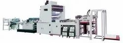 Automatic BOPP/Metpet Film Lamination Machine.