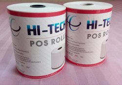 Hi-Tech White Thermal Paper Roll, GSM: Less than 80