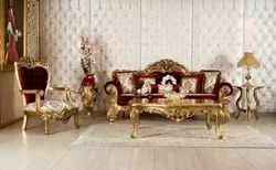 Gold Plated Sofa Set