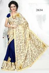 Half Half Fancy Saree