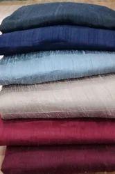 Handloom Pure Raw Silk Fabric