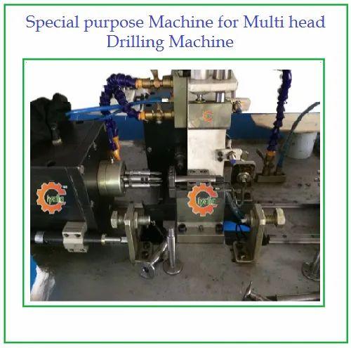Special Purpose Machine for Multi head Drilling Machine