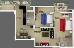 2 BHK Tower Building Construction Services