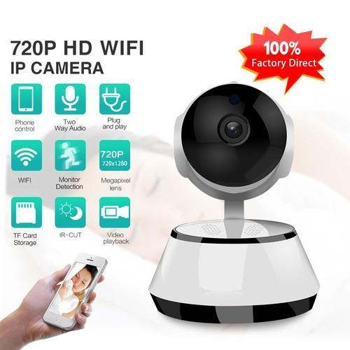 Wireless Ip Camera 720p Wifi Connect With Mobile