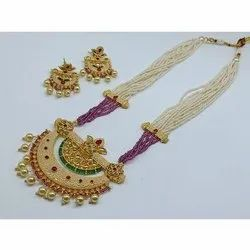 Traditional Long Necklace Set, Occasion: Party