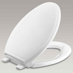 White Plastic Washroom Seat Cover