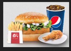 Classic Chicken Burger Combo Pack