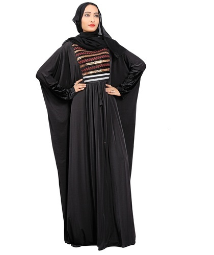 652dabaeef Women Plain Long Free Size Islamic Arabic Wear Abaya Designs