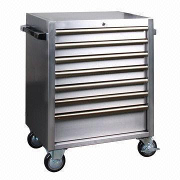 VE 7 Drawer Stainless Steel Tool Roller Cabinet 18a4b51d3d17