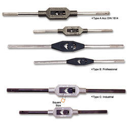 Adjustable Tap & Reamer Wrenches - Bar Type
