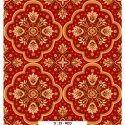 Rectangular Floral Printed Floor Carpet, Size: 5 X 8 Feet