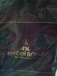 White JK Excel Bond Superwhite Bond Paper, Size: A4