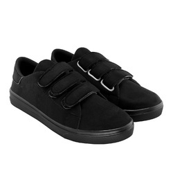 Bellatoes Black Women Suede And Uniform Shoes, Size: 36-41
