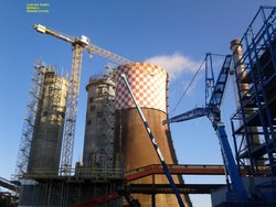 Structural Rehabilitation of RCC Cooling Towers