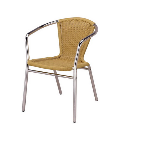 Outdoor Wicker Aluminum Cafe Chair  sc 1 st  IndiaMART & Outdoor Wicker Aluminum Cafe Chair Cafeteria Chair Cafeteria ...