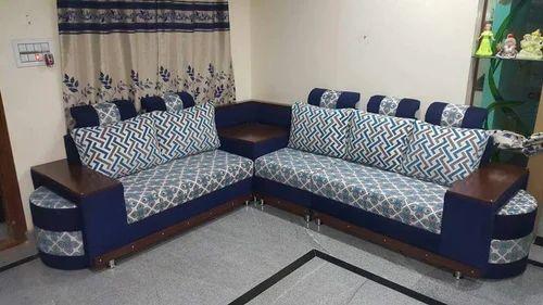 Corner Sofa Set Latest Design 3 Years Warranty Branded Color