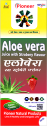 Aloe Vera With Strawberry Juice 500 Ml