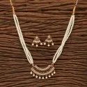 Classic Mangalsutra Set With Gold Plating 200266, Size: Chain = 18 Inch
