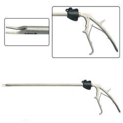 Single Action Laparoscopy Clip Applier