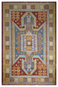 Royal Hand-knotted Kazak Design Traditional Wool Carpet