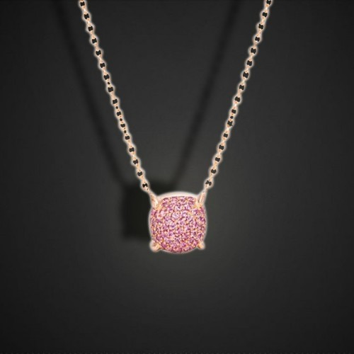 jewelry heart diamonds necklace jewelryrosy pink eternity diamond