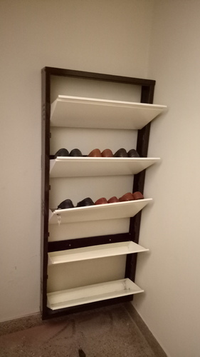 Metal Wall Mounted Shoe Rack Cabinet