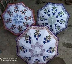 Block Print Umbrella