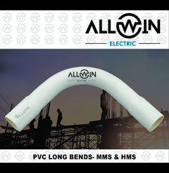 Allwin Electric PVC Pipe Long Bend