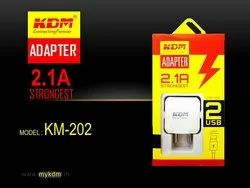 3500/V8 KDM 2.1A 2USB Fast Charger