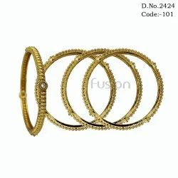 Antique Bridal Stone Bangles