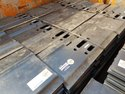 Excavator Track Shoe Plates for Kobelco SK-210. (10mm Berco Track Shoes)