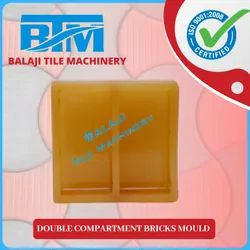 Double Compartment Bricks Mould