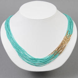 Kaizer Jewellery Plastic Beads Seed Bead Layered Necklace