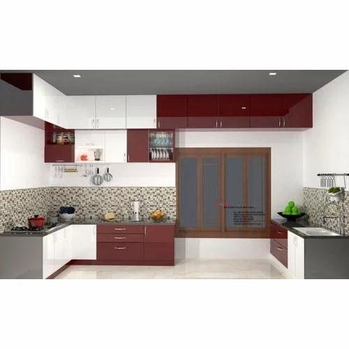 Plywood High Gloss Modular Kitchen, Rs 250000 /unit Altera ...