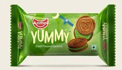 Elaichi Flavoured Sandwich Anmol Biscuits