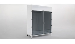 Stainless Steel Garment Cubicle