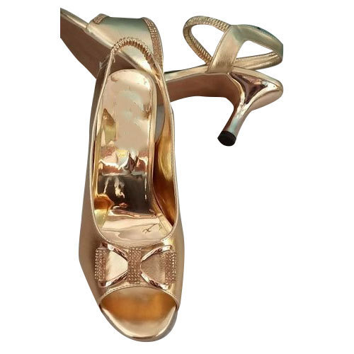 35343c04e Golden Fancy Ladies Sandal
