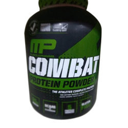MP Muscle Building 5 lbs Muscle Pharm Combat Protein Powder, Packaging Type: Plastic Container , for Gym Supplement