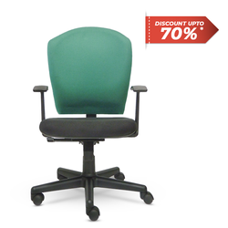 Black Fabric Enzo Plus Office Chair Rs 19500 Piece Eurotech Design Systems Private Limited Id 5713509091
