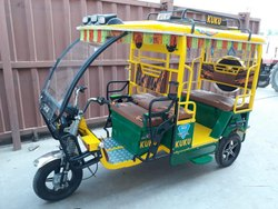 Kuku Green Delux Battery Operated Vehicle, Bihar, Vehicle Capacity: 4+1