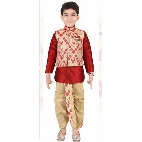 5d969608ffa8 Kids Brijesh Suit, Children Dhoti Kurta, किड्स धोती ...